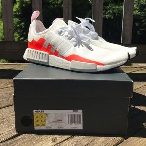 NEW Adidas NMD Cloud White Solar Red EE5083